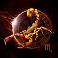 Horoscope Signs-scorpio by Peter Awax