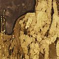 Horse Above Stones by Carol  Law Conklin