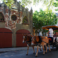 Horse Carriage At Kings Street by Susanne Van Hulst