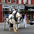 Horse Carriage In Nashville by Susanne Van Hulst