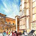 Horse Carriages In Palma De Mallorca by Miki De Goodaboom