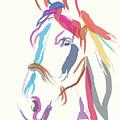 Horse Colour Me Beautiful In Ecru by Go Van Kampen
