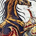 Horse Dances In Sea With Squid by Carol Law Conklin