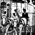 Horse Drawn Funeral Carriage by Kathleen K Parker