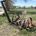 Horse Drawn Sickle Mower by Frederick Holiday