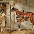 Horse Eastern by Gericault Theodore