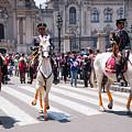 Horse Guard At Parade by Bob Phillips