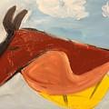 Horse In Contemplation by Margaret Jemison