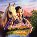 Horse Maiden by MGL Meiklejohn Graphics Licensing