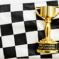 Horse Races Trophy. Melbourne Cup Win by Jorgo Photography - Wall Art Gallery