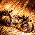 Horse Racing Cuff Links by Jorgo Photography - Wall Art Gallery