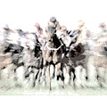 Horse Racing - Parallel Hatching