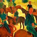 Horseback Riders by Bob Dornberg