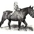 Horseback Riding by Joyce Geleynse