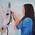 Horselady by Robert Silvera