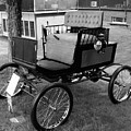 Horseless Carriage-bw by Charles HALL
