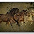 Horses 30 by Ingrid Smith-Johnsen