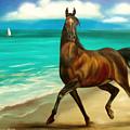 Horses In Paradise  Dance by Gina De Gorna