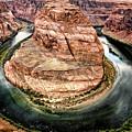 Horseshoe Bend Colorado River by Gigi Ebert