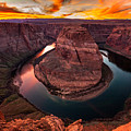 Horseshoe Bend, Colorado River, Page, Arizona  by Bryan Mullennix