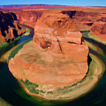 Horseshoe Bend Filters Paint  by Chuck Kuhn