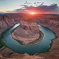 Horseshoe Bend Sunset by Michael Ver Sprill
