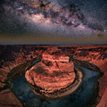 Horseshoe Bend With Milkyway by William Freebilly photography