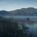 Horsetails On Lake Atitlan Guatemala by Douglas Barnett