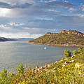 Horsetooth Dam Co by James Steele