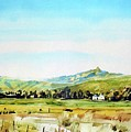 Horsetooth Mountain by Ugljesa Janjic