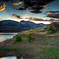 Horsetooth Reservior At Sunset by James O Thompson