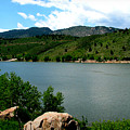 Horsetooth Reservoir Summer by Aaron Burrows