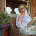 Horsewoman by Beebe  Barksdale-Bruner