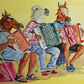 Horsing Around With Accordions by Jenny Armitage