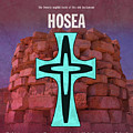 Hosea Books Of The Bible Series Old Testament Minimal Poster Art Number 28 by Design Turnpike