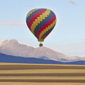 Hot Air Balloon And Longs Peak by James BO Insogna