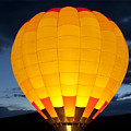 Hot Air Balloon Glow by Gary Langley