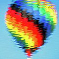 Hot Air Balloon Reflection by John Vose