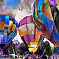 Hot Air Balloons 2 by Patty Vicknair