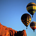 Hot Air Balloon Monument Valley 5 by Bob Christopher