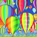 Hot Air Balloons by Jean Plout
