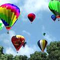 Hot Air Balloons by Kenneth Lambert