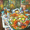 Hot Boiled Crabs by Dianne Parks