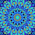 Hot Cat Mandala by Chad Kroll