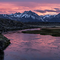 Hot Creek Sunset by Cat Connor