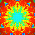 Hot Kaleidoscope Flower by Chad Kroll