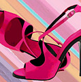 Hot Momma's Hot Pink Pumps by Elaine Plesser