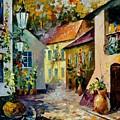 Hot Noon Original Oil Painting  by Leonid Afremov