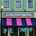 Hot Pink Cake Stand by Bob Sample