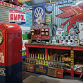Hot Rod Garage 2 by Stuart Row